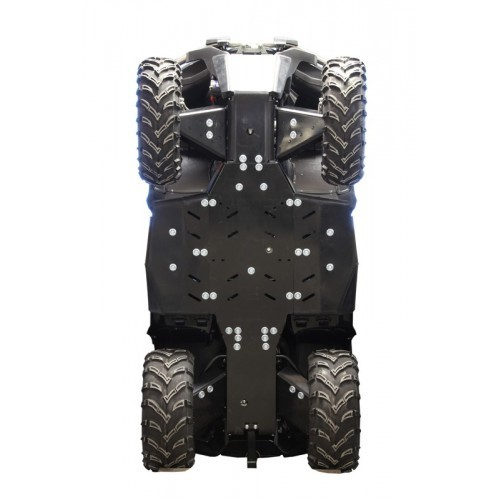 Skid plate full set (plastic): CFORCE 550