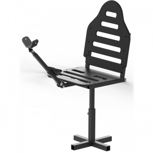 Adjustable chair: with gun support