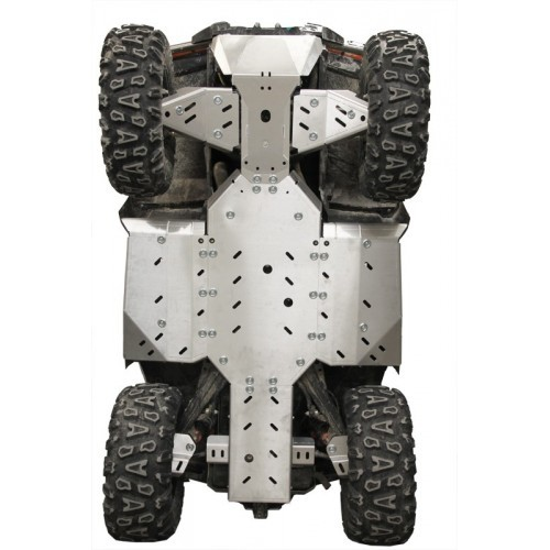 Skid plate full set (aluminium): CFORCE 850