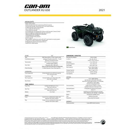 CAN-AM Outlander 650 XT T 2019