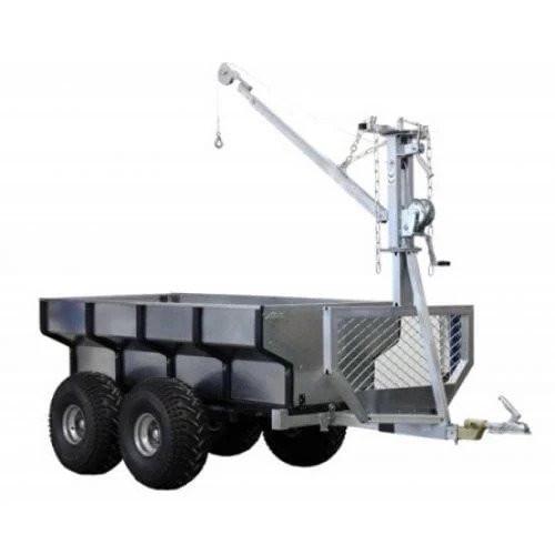 Remorca ATV Iron Baltic ECO 700 + bena + macara