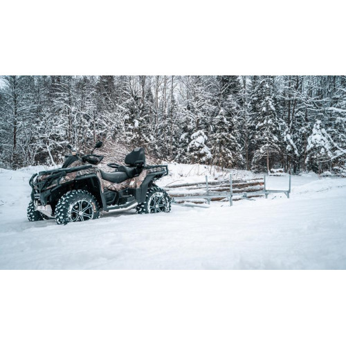 Sanie Cherestea ATV Snowmobile Iron Baltic ECO