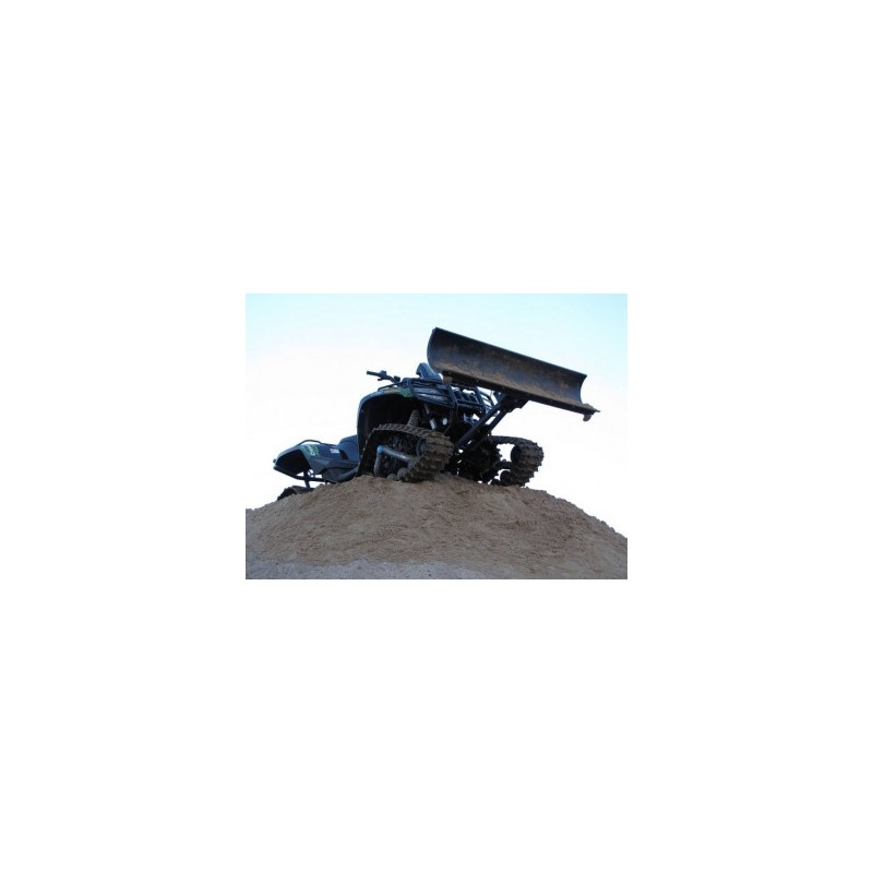 """Snow plow kit (steel) 1500mm / 59"""" for tracks fitted ATV-s"""